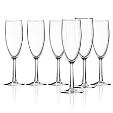 Grand Noblesse Flute Glass - Set of 6