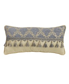 "Croscill Nadia 22"" x 11"" Boudoir Decorative Pillow"