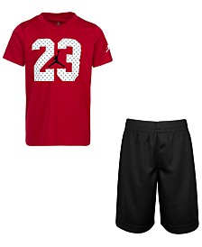 Jordan Little Boys 2-Pc. T-Shirt & Shorts Set