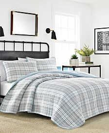 Nautica Millbrook Plaid King Quilt Set