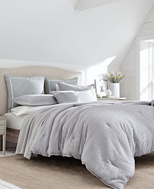 Nautica Ballastone Grey Duvet Set, Full/Queen