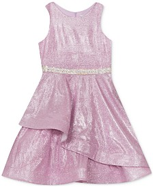 Rare Editions Little Girls Mermaid Metallic Dress