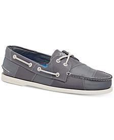 Men's A/O 2-Eye Sailcloth Boat Shoes
