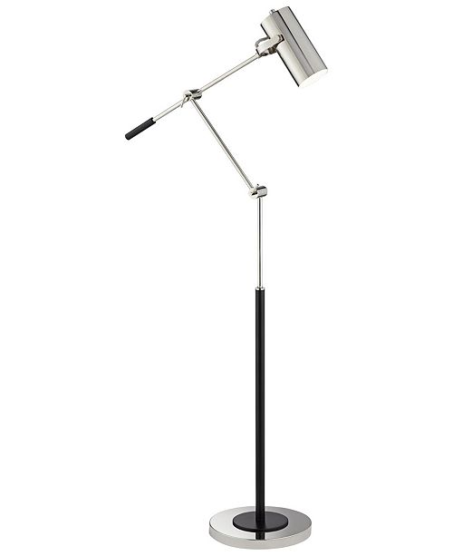 Pacific Coast Swing Pharmacy Floor Lamp with Cylinder Shade