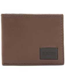 Men's Extra-Capacity Slimfold Leather Wallet