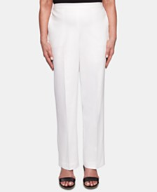 Alfred Dunner Cayman Islands Pull-On Pants