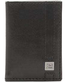 Men's Book Magnet Leather Wallet
