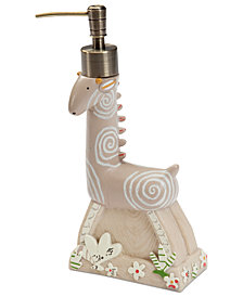 Creative Bath Accessories, Animal Crackers Soap and Lotion Dispenser