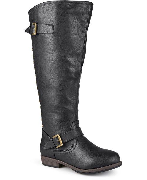 Journee Collection Women's Extra Wide Calf Spokane Boot