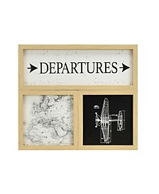 Brewster Home Fashions Vintage Escape Gallery Wall Art