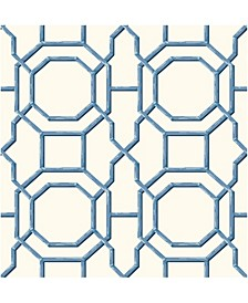 "Summer Trellis Wallpaper - 396"" x 20.5"" x 0.025"""