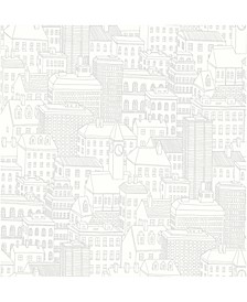 "Limelight City Wallpaper - 396"" x 20.5"" x 0.025"""