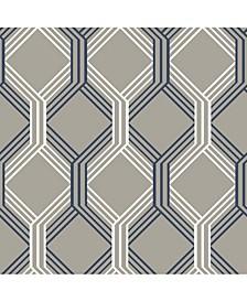 "Lage Trellis Wallpaper - 396"" x 20.5"" x 0.025"""