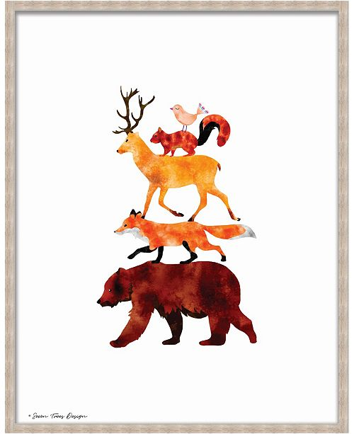 Artissimo Designs Stacked Forest Animals