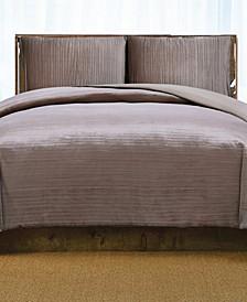 Christian Siriano Crinkle Velvet Full/Queen Comforter Set