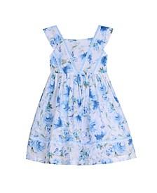 Sleeveless Ruffle Front Party Dress