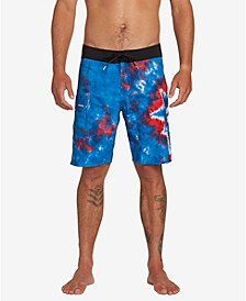 "Men's Peace Mod 20"" Board Shorts"