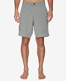 Men's Recycled Poly Blend Hybrid Short