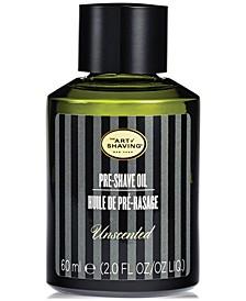 The Men's Unscented Pre-Shave Oil, 2 oz.
