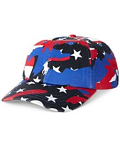 f9a7552734364 Polo Ralph Lauren Men s Stars-And-Stripes Cap