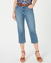 b6fec5098a1 Style & Co Belted Denim Capri Pants, Created for Macy's
