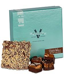 V Chocolates 1-Lb Toffee Caramel Combo