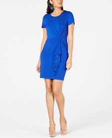 Thalia Sodi Asymetrical Ruffle Dress, Created for Macy's