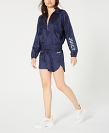 Juicy Couture Logo-Print Track Jacket