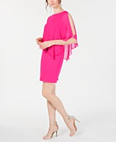 d4f28c53029 MSK Rhinestone-Trim Chiffon Popover Dress. Quickview. 4 colors