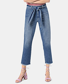 Joe's The Jane Cropped Belted Jeans