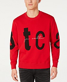Men's Logo Letter Graphic Sweatshirt