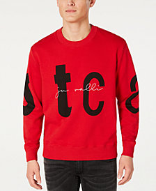 Just Cavalli Men's Logo Letter Graphic Sweatshirt