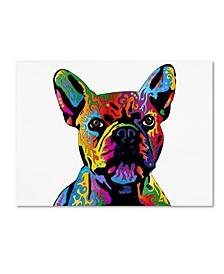 "Michael Tompsett 'French Bulldog' Canvas Art - 14"" x 19"""
