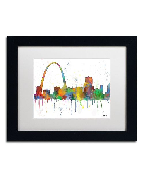 Home Decor Liquidators St Louis: Trademark Global Marlene Watson 'Gateway Arch St Louis