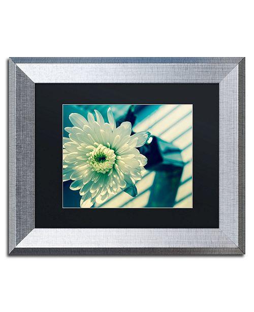 """Trademark Global PIPA Fine Art 'Melancholy Flower' Matted Framed Art - 11"""" x 14"""""""