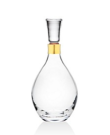 Novo Molten Gold Whiskey Decanter