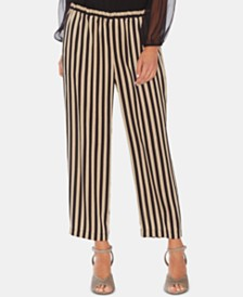 Vince Camuto Striped Pull-On Pants