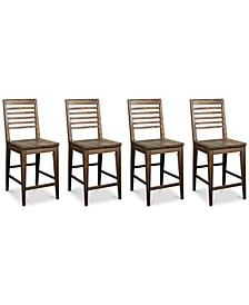Mila Counter Stool, 4-Pc. Set (4 Counter Stools)
