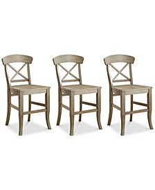 Layla Counter Stool, 3-Pc. Set (3 Counter Stools)