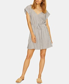 Sanctuary Sundrenched Striped V-Neck Shirtdress