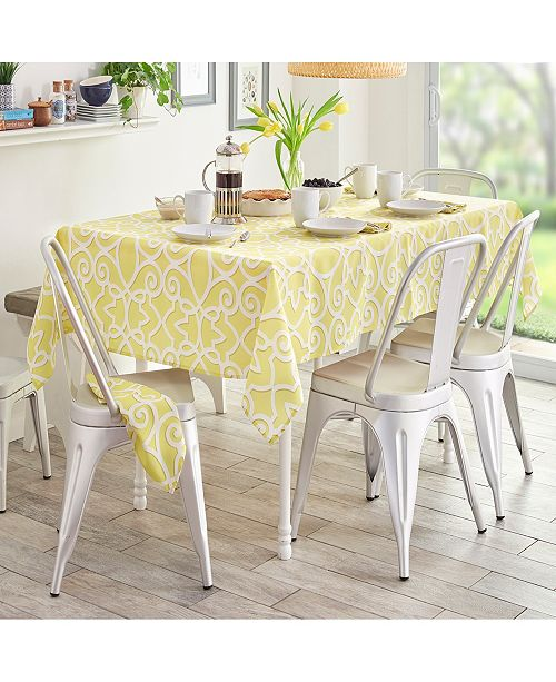 Elrene Chase Indoor/ Outdoor Table Linens Collection