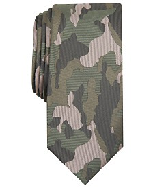I.N.C. Men's Camo Graphic Tie, Created for Macy's
