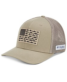 Men's PFG Mesh Fish Flag Ball Cap