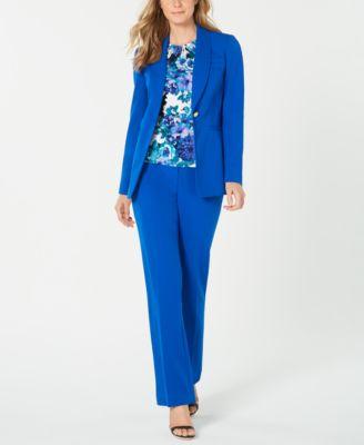 Shawl-Collar One-Button Jacket