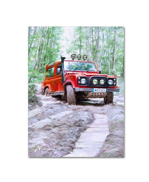 "Trademark Global The Macneil Studio 'Tough Terrain' Canvas Art - 14"" x 19"""