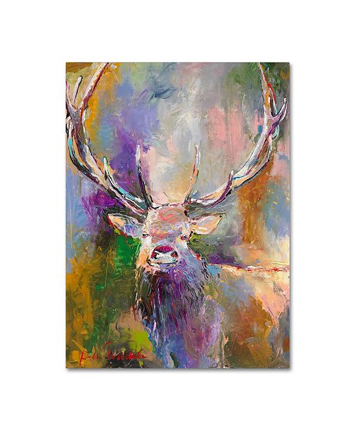 "Trademark Global Richard Wallich 'Buck' Canvas Art - 14"" x 19"""