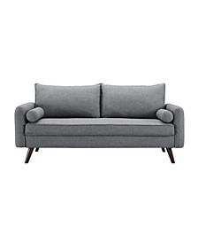 Carmel Modern Style Sofa With Fabric Upholstery