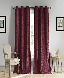"Aeryn 54"" x 84"" Floral Blackout Curtain Set"