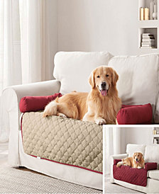 """Wubba 45"""" x 34"""" Reversible Dog Bed + Couch Cover"""