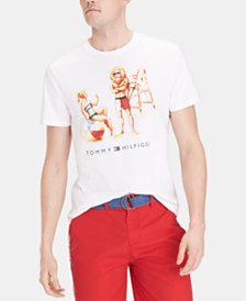 Tommy Hilfiger Men's Roaring Guard Graphic T-Shirt
